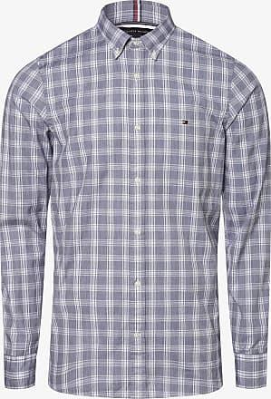 Tommy Hilfiger Herren Hemd - Two Ply blau