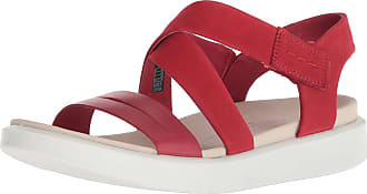 Ecco Flowt W, Open Toe Sandals Womens, (Chili Red/Chili Red 51183), 7.5 UK EU