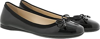 Prada Ballerinas - Round Toe Ballerina Black - black - Ballerinas for ladies