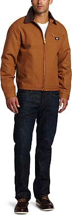 Dickies 758 Blanket Lined Duck Jacket, Size: X-Large, Color: Brown Duck