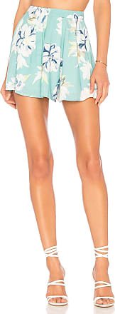 Yumi Kim Rosebud Shorts in Mint
