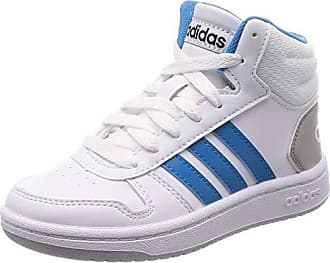 big sale adfa7 5adeb adidas Hoops Mid 2.0 K, Chaussures de Basketball Mixte Enfant, Bianco FTWR  White