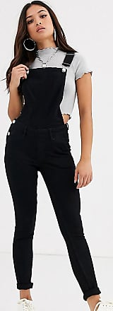 Noisy May Dungaree-Black