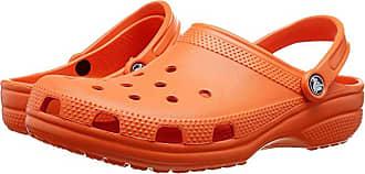 Crocs Classic Clog (Tangerine 1) Clog Shoes