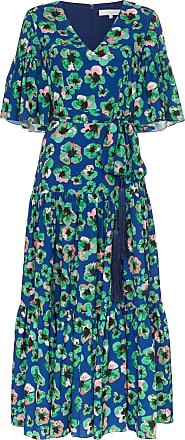 Borgo De Nor Vestido longo Teodoro floral - Azul