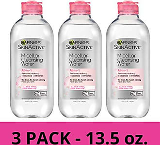 Garnier SkinActive Micellar Cleansing Water, For All Skin Types, 13.5 Ounce (Pack of 3)