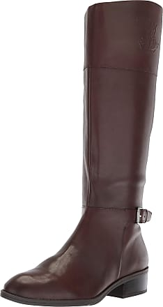 Lauren Ralph Lauren Lauren by Ralph Lauren Womens Madisen-W Fashion Boot, Dark Brown, 5 UK
