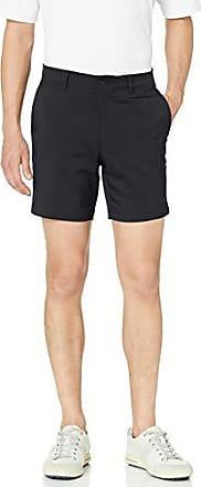 PGA TOUR Short de golf à devant plat pour homme avec ceinture active, Caviar, taille 36, entrejambe de 7 pouces