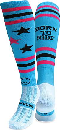 Wackysox Born To Ride Equestrian Riding Socks