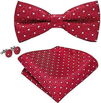 Einheitsgr/ö/ße gold Wang Krawatten-Set mit Einstecktuch und Manschettenkn/öpfen Gr Barry