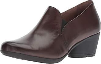 Dansko Womens Robin Loafer Flat, Chocolate Burnished Calf, 42 M EU (11.5-12 US)