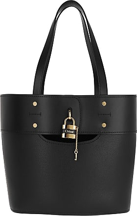 Chloé Tote - Aby Tote Bag Leather Black - black - Tote for ladies