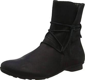 Think Womens Keshuel_585127 Ankle Boots, (Schwarz 00), 2.5 UK