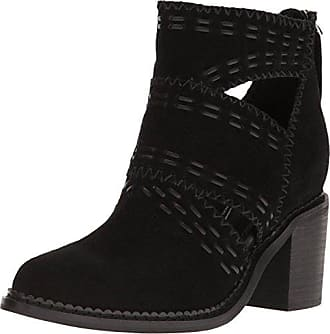 Sbicca Womens Jossly Ankle Bootie, Black, 8 B US