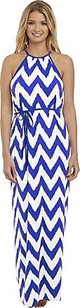 Freya Womens Making Waves Maxi Swim Dress, XL, Cobalt