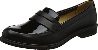 Hotter Womens Dorset Loafers, Black (Black Black Patent 007), 4 UK (37 EU)