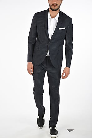Neil Barrett Pinstripe SLIM FIT Single Breasted Suit size 44
