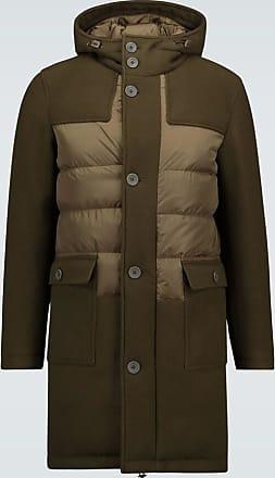 Herno Contrast paneled coat