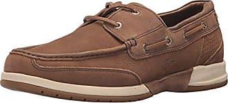 Tommy Bahama Mens Ashore Thing Boat Shoe, Dark Brown, 8.5 D US