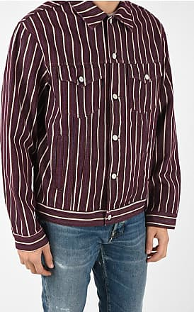 Napapijri Striped A CORBIER Denim Jacket size Xl
