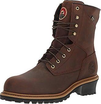 Irish Setter Work Mens Mesabi Steel Toe 83834 Boot, Brown, 13 2E US