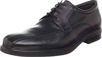 Geox Mens Uomo Londra Lace Up,Black Oxford,43 EU (10 M US)