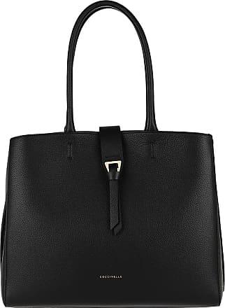 Coccinelle Alba Tote Bag Noir Shopping Bags zwart