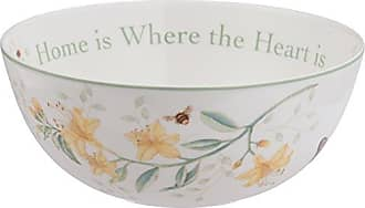 Lenox Butterfly Meadow Home Is Where The Heart Is Serving Bowl