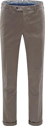Pantaloni Torino Chino Slim Fit graubraun bei BRAUN Hamburg