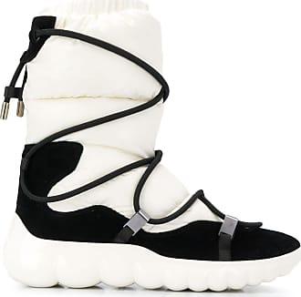 Moncler Sneaker low ARIEL Ziegenleder Laminiert Logo schwarz