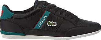 Lacoste Mens Chaymon 120 1 CMA Trainers, Black (Blk/Grn 1b4), 8.5 UK