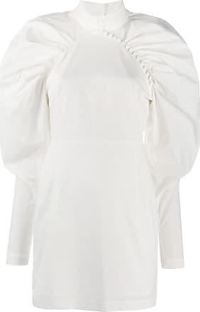 Rotate Vestido gola alta de festa Kim - Branco