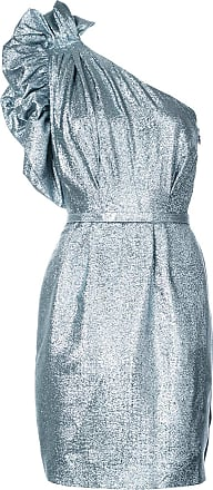ea06f2fa0eb Stella McCartney Silver Womens One-shoulder Belted Dress - The Webster