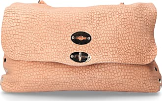 Zanellato Handbag POSTINA leather logo pink