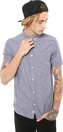 Element Camisa Element Reta Greene Neps Azul