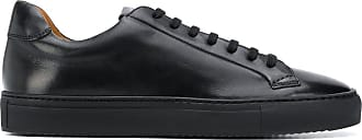 Doucal's Kobe low-top leather sneakers - Preto