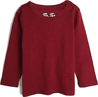 Tip Top Camiseta Tip Top Infantil Lisa Vermelha
