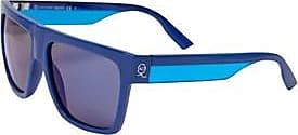 Alexander McQueen retro squared sunglasses