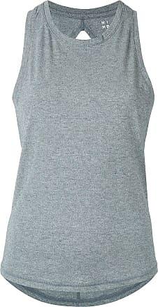 Nimble Activewear Regata com recorte vazado - Cinza