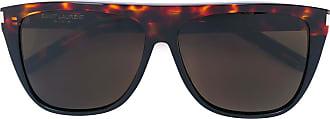 Saint Laurent Eyewear Óculos de sol New Wave 1 - Marrom