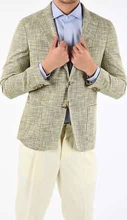 Corneliani CC COLLECTION giacca REWARD in lana vergine e lino taglia 50