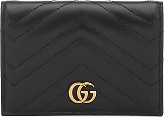 Gucci Porta passaporto GG Marmont in pelle