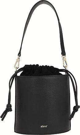 Abro Bucket Bags - Drawstring Bag Zoey Black - black - Bucket Bags for ladies