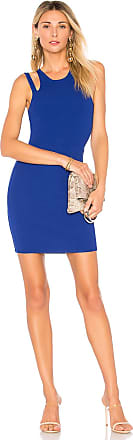 Superdown Briela Cut Out Bodycon Dress in Royal