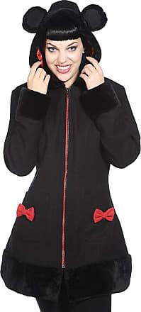 Banned YBN1905 Short Mouse Coat - Black - XL