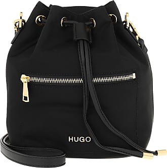 HUGO BOSS Bucket Bags - Megan Drawstring Bag Black - black - Bucket Bags for ladies