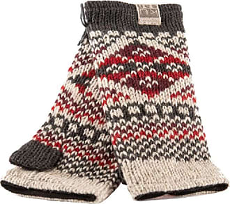 KuSan 100% Wool Handwarmers PK1901 (Red)