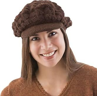 Novica 100% alpaca hat, Chocolate Cap