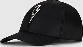 Neil Barrett Thunderbolt Badge Nylon Six Panel Cap