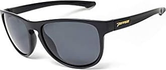 bb05d1d94cb7 Peppers Womens Gail Force Polarized Oval Sunglasses Matte Black to Tortoise  57 mm